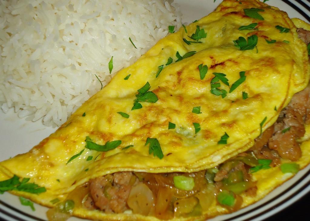 Cambodian Pork Omelet