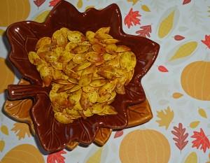 Masala Roasted Pumpkin Seeds