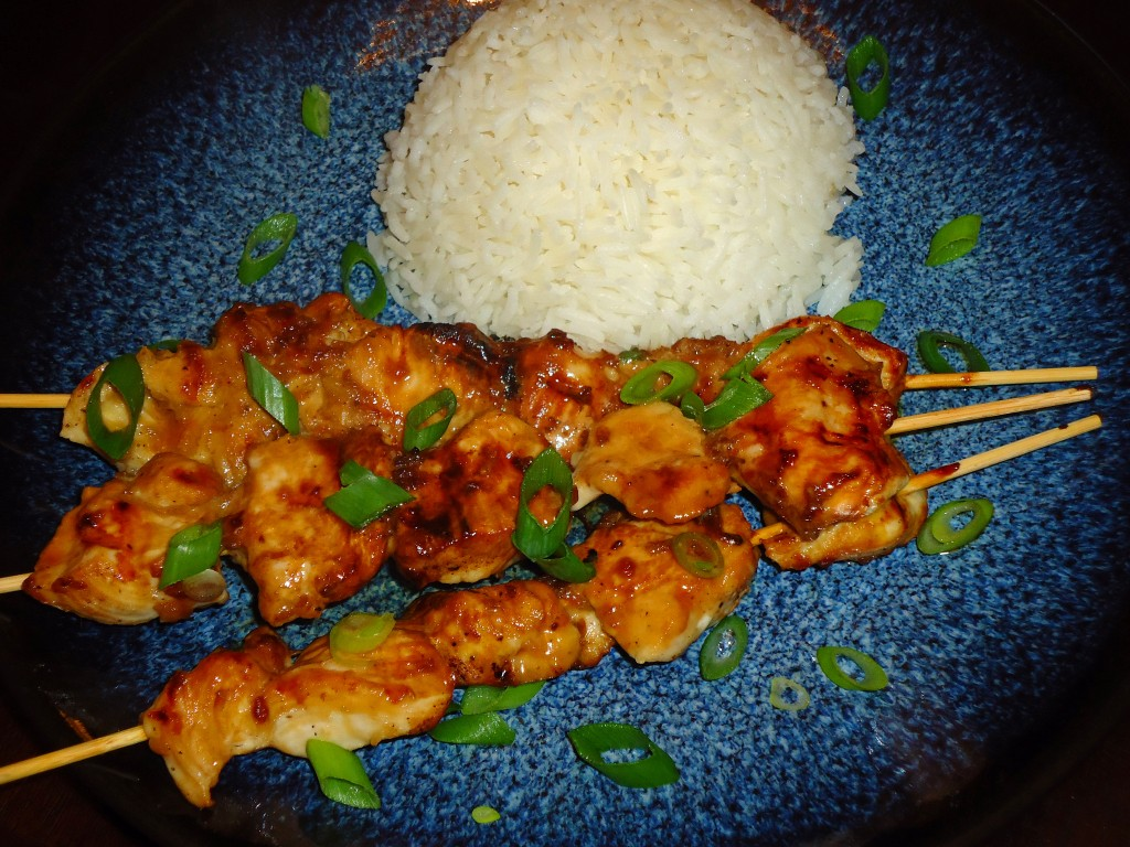 Korean Chicken Skewers