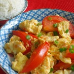 Stir fried Tomato and Egg