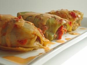 Balandeliai (Lithuanian Cabbage Rolls)