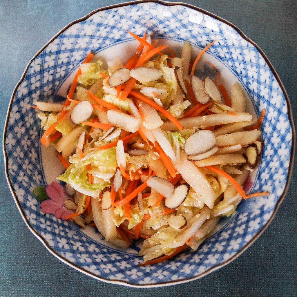 Cabbage, Carrot and Pear Salad (3 of 3)