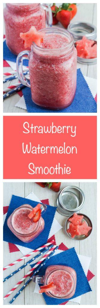 Strawberry Watermelon Smoothie