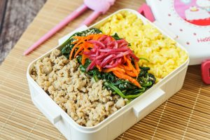 Soboro Don (Japanese Minced Chicken Bowl)