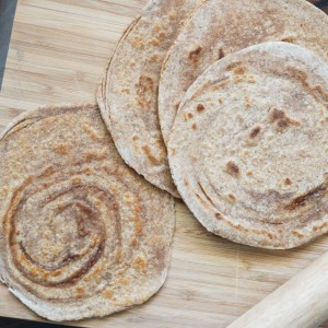 Cinnamon Paratha (Indian Cinnamon Sugar Flatbread)