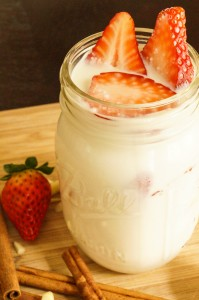 Strawberry Almond Horchata