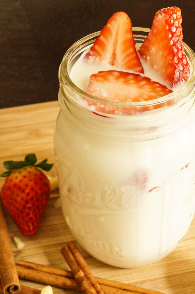 Strawberry Almond Horchata | Tara's Multicultural Table