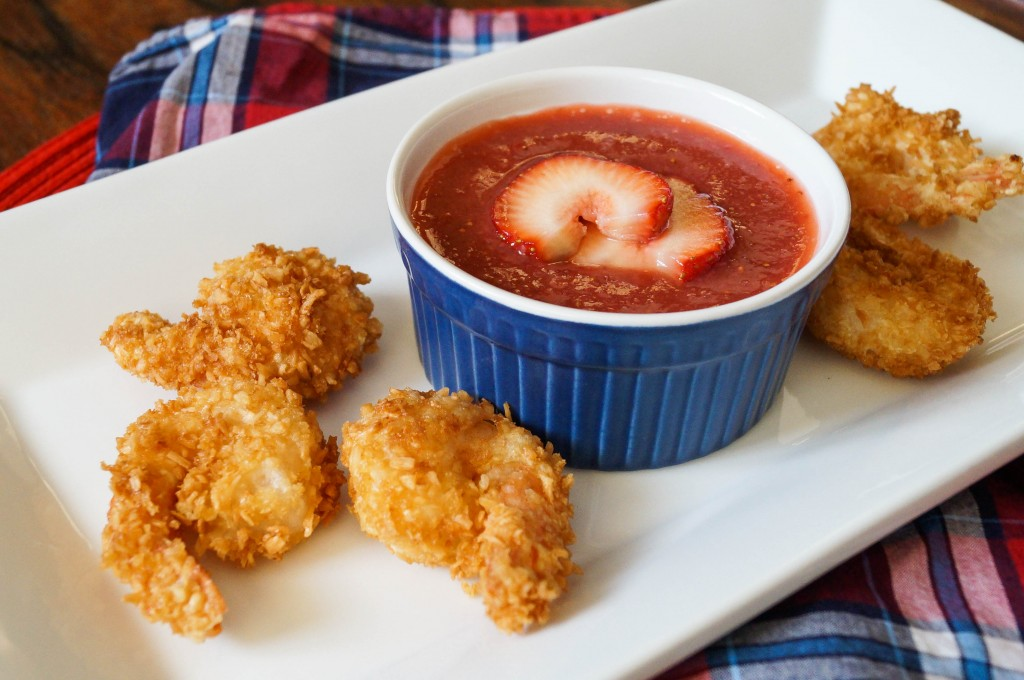 Coconut Shrimp with Strawberry Sauce (2 of 2)