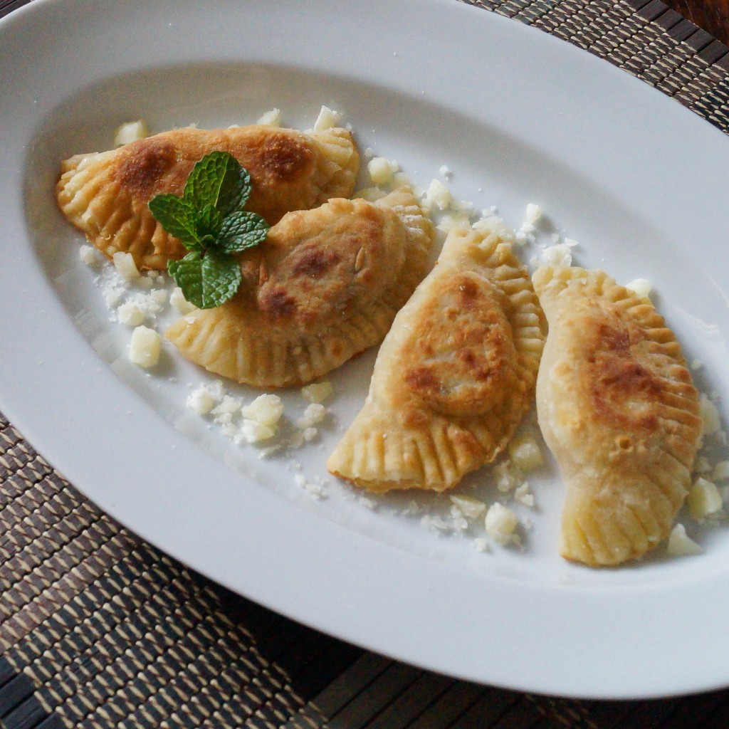 Onion, Cheese, and Mint Crescents (6 of 6)