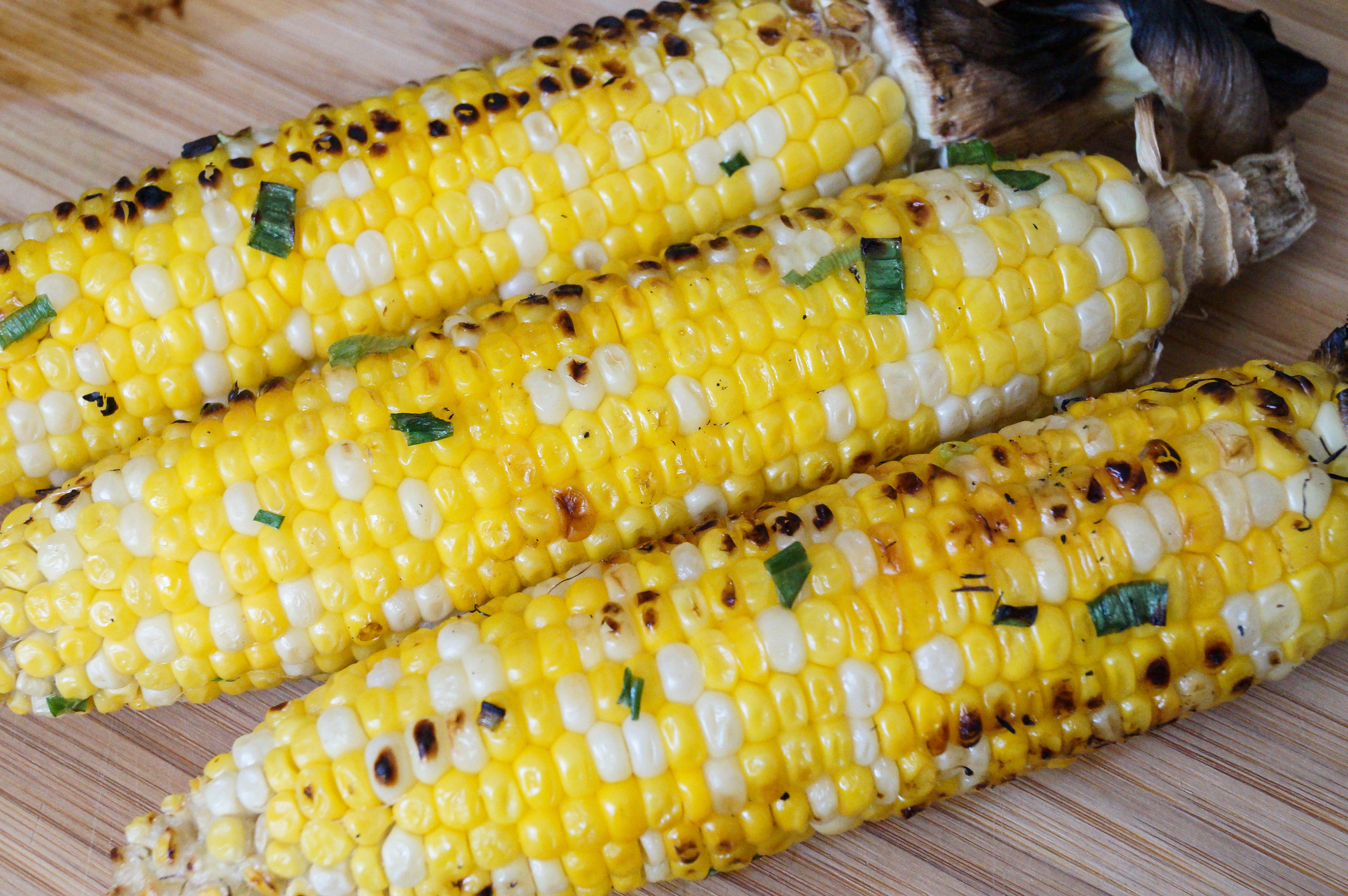 Pot Ang (Cambodian Grilled Corn)