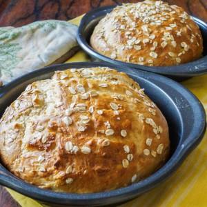 Havrebrød (Danish Oat Loaf)