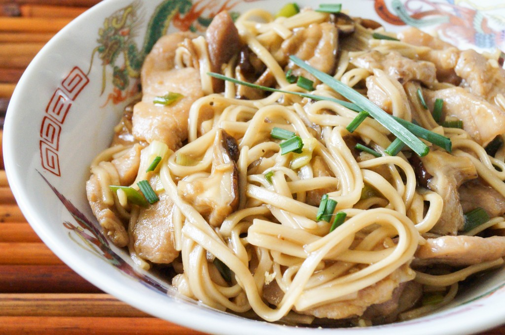 Garlic Pork Lo Mein (1 of 4)