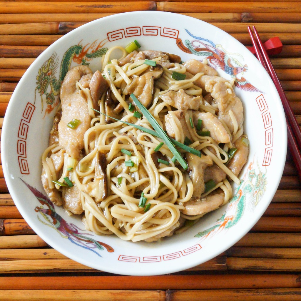Garlic Pork Lo Mein (2 of 4)