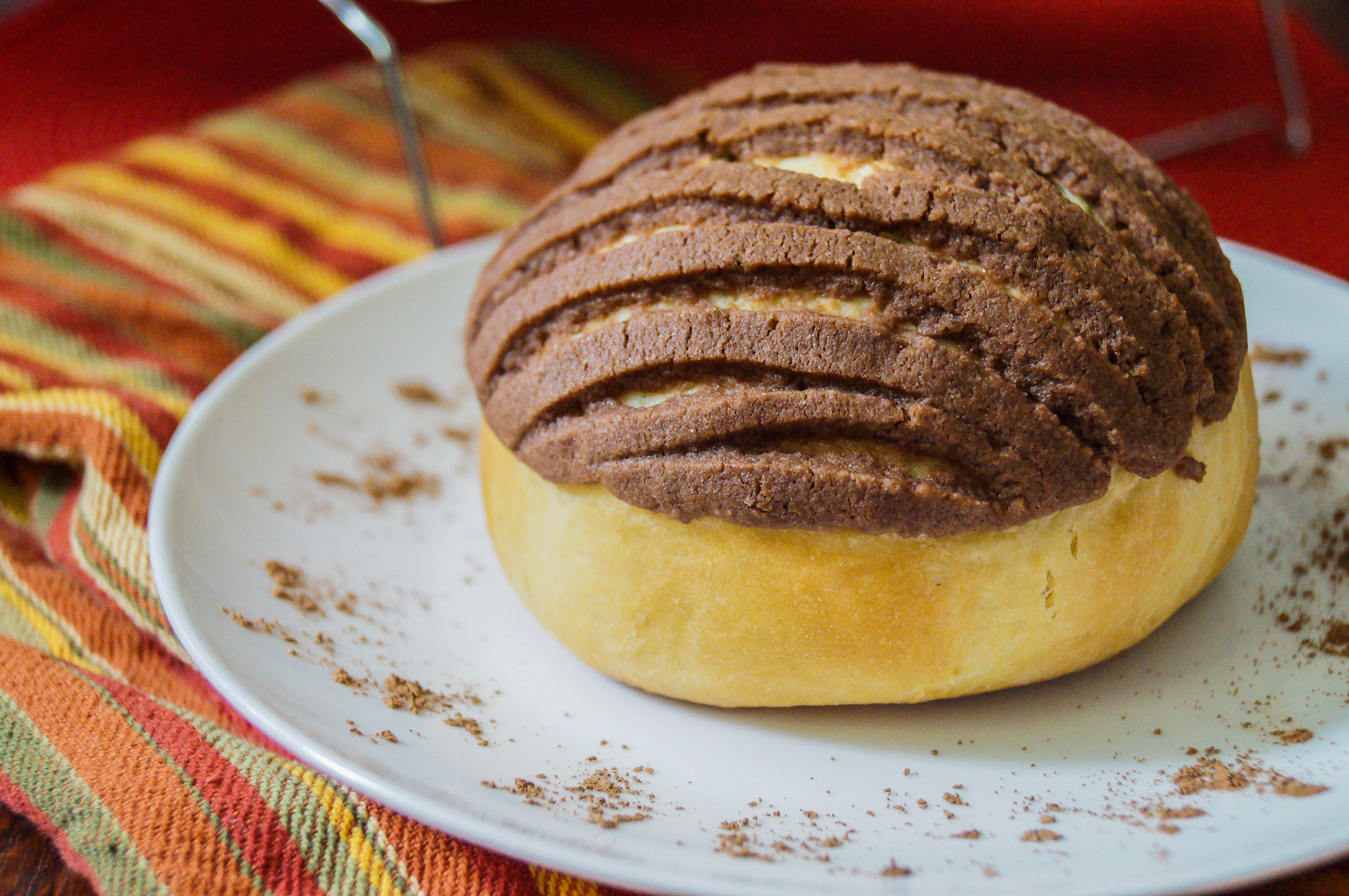 Chocolate Conchas (Mexican Chocolate Shell Pastries)