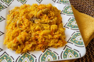 Ma'jun Palov (Uzbek Carrot Pilaf)