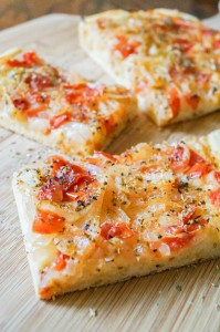 Ladenia Milou (Greek Olive Oil Flatbread)