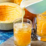 Melon sa Malamig (Filipino Cantaloupe Drink)