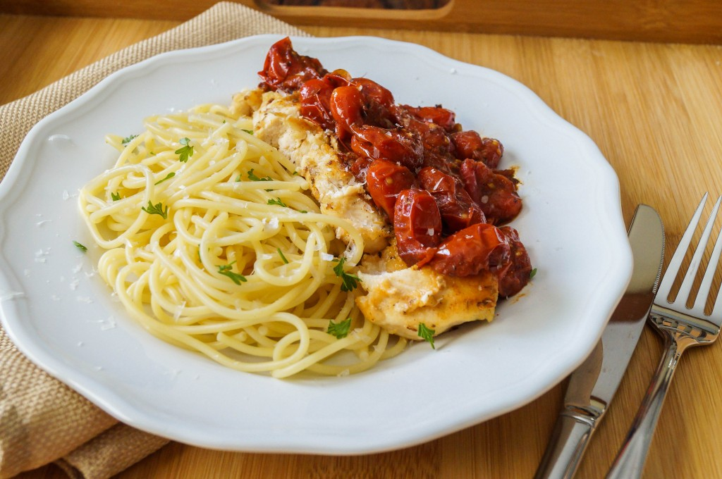 chicken with tomato herb pan sauce (5 of 6)