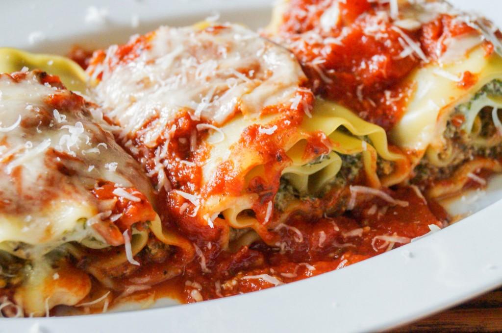 mushroom kale lasagna rolls (2 of 3)