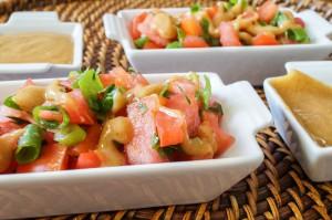 Salata Tomatim Bel Daqua (Sudanese Tomato Salad)