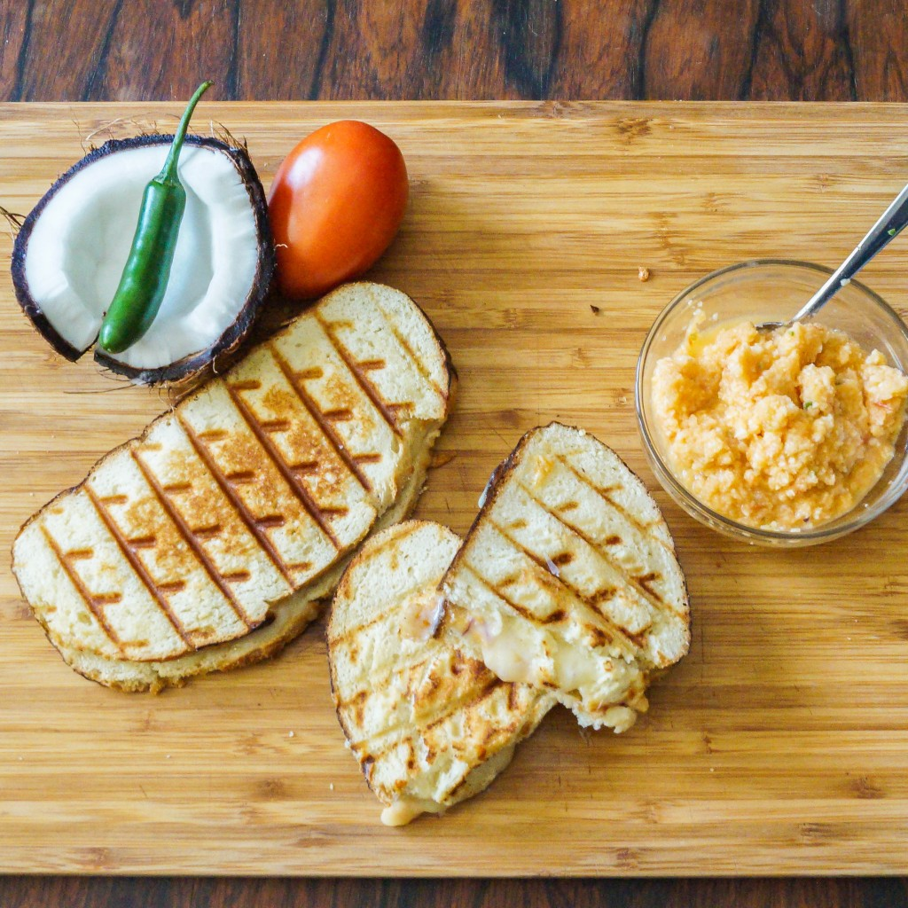 grilled cheese with tomato coconut chutney (3 of 4)