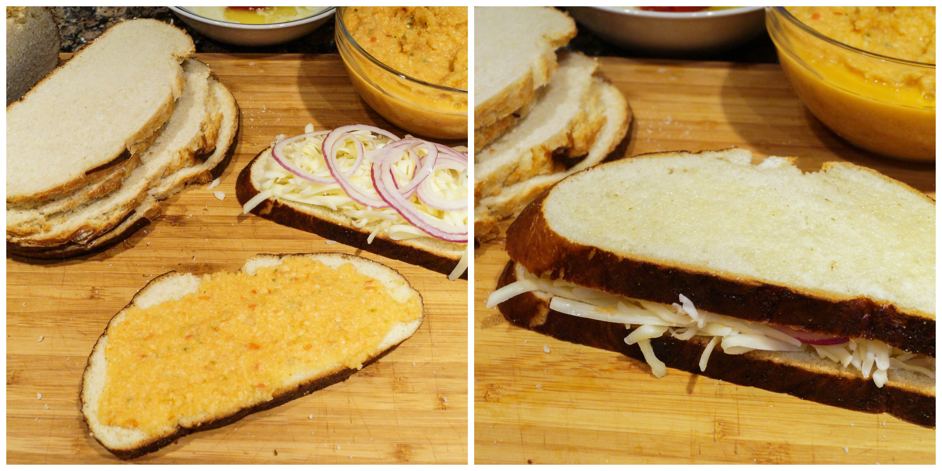 Grilled Cheese Sandwiches with Tomato Coconut Chutney ...