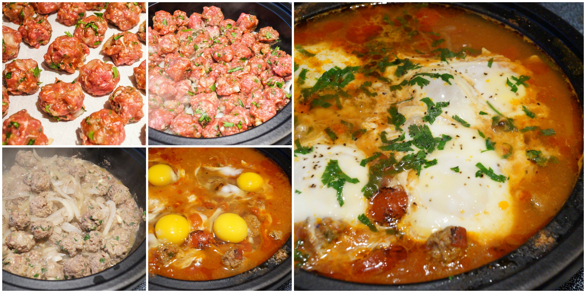 Kefta, Tomato And Egg Tagine Recipe — Dishmaps