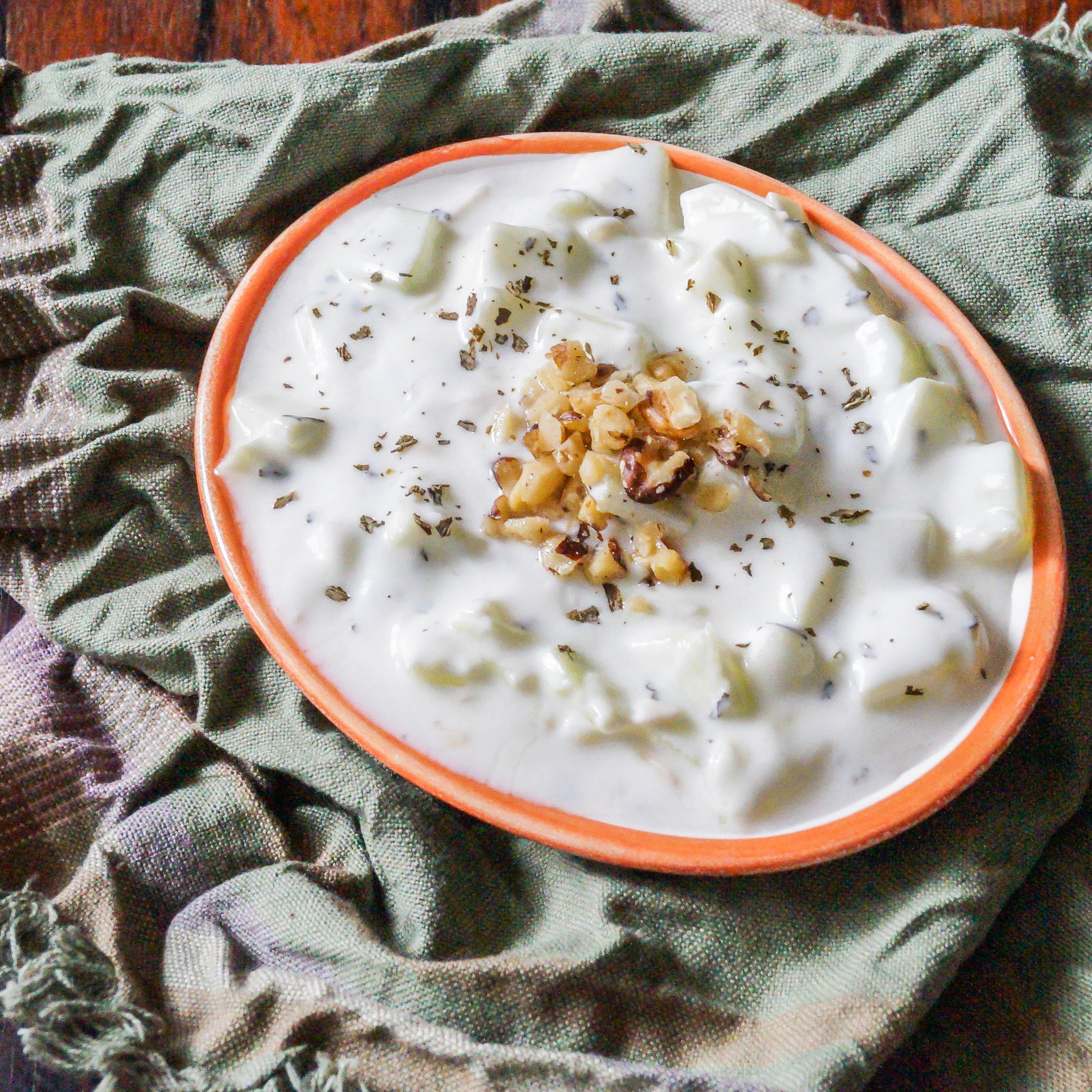 Mast-o-Khiar (Persian Yogurt and Cucumber Dip) | Tara's Multicultural ...