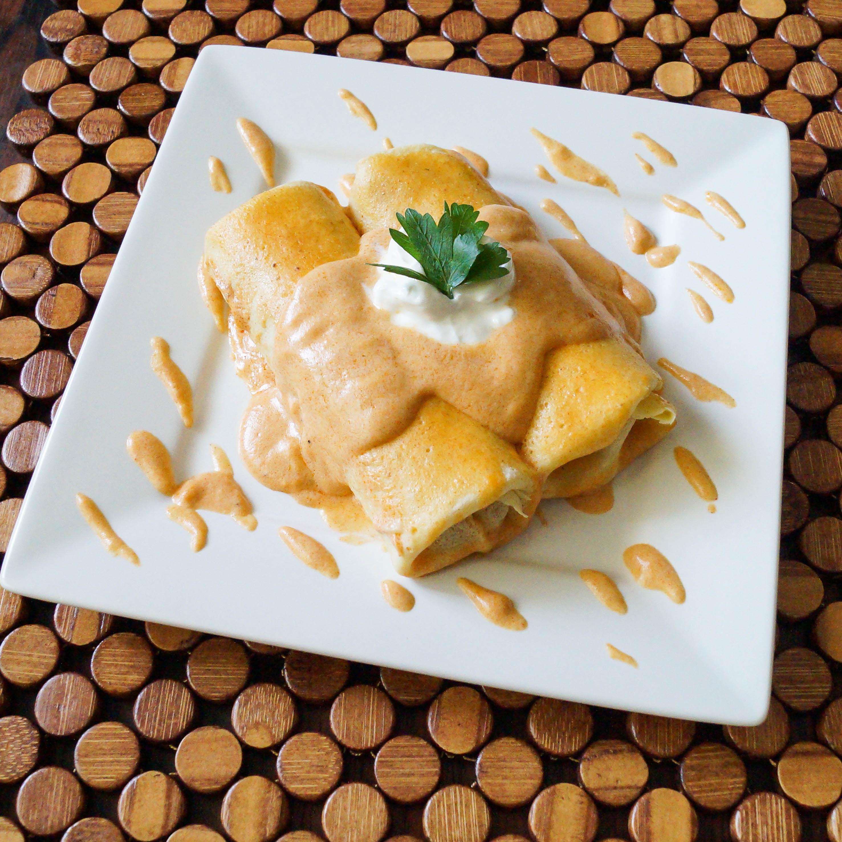 Hortob 225 Gyi Palacsinta Hungarian Stuffed Crepes Tara S