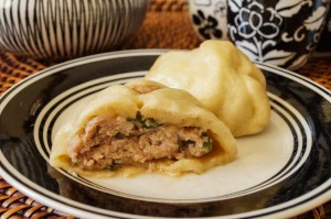 Baozi (Chinese Steamed Pork Buns)