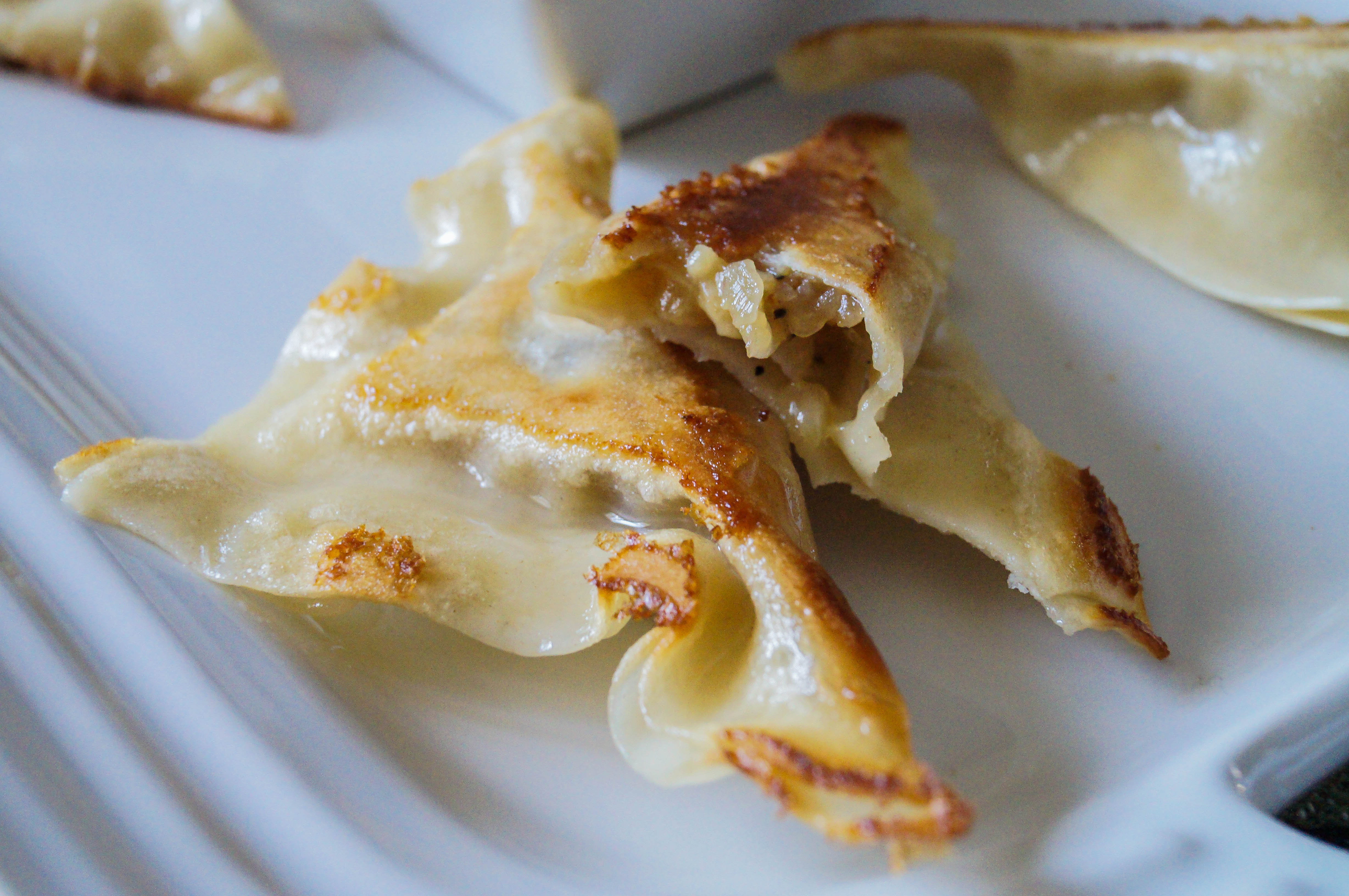 French Onion Potstickers