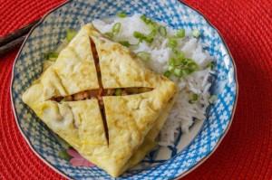 Kai Yad Sai (Thai Stuffed Omelet)