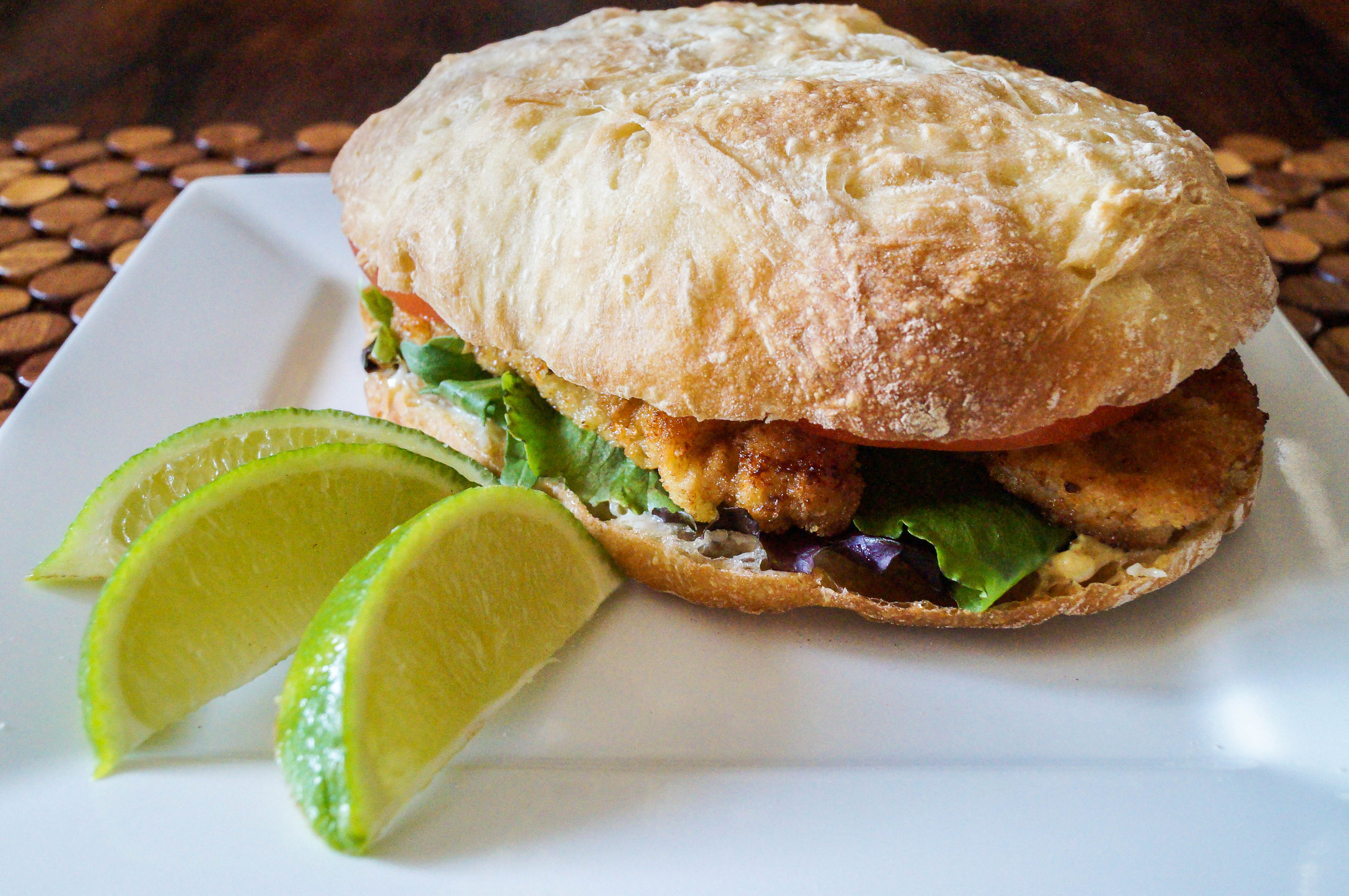 Pan con Milanesa (Argentinian Sandwich with Breaded Veal Cutlet)