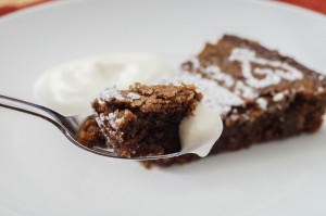 Kladdkaka (Swedish Chocolate Sticky Cake)