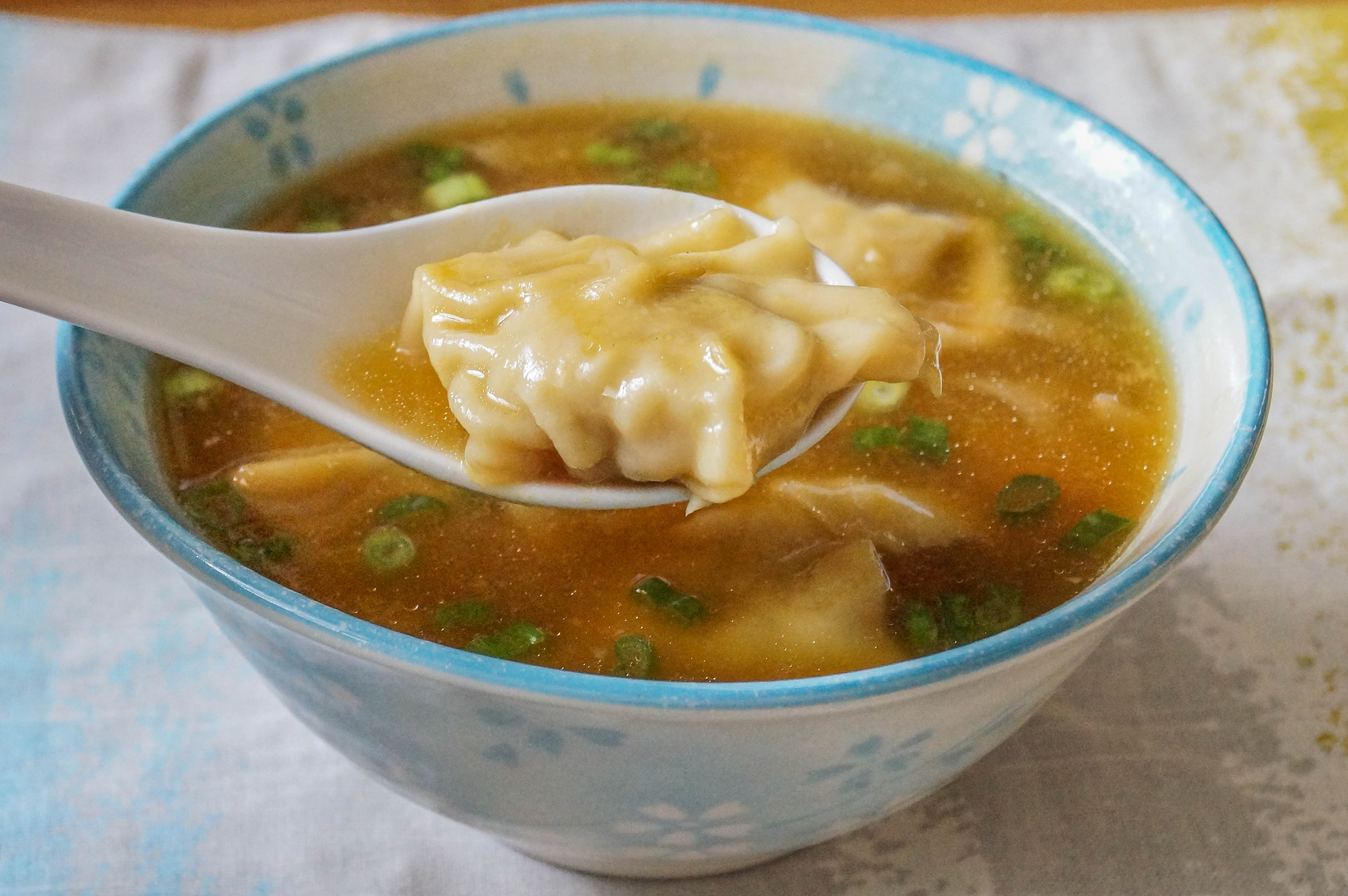 Pancit Molo (Filipino Pork and Shrimp Dumpling Soup)