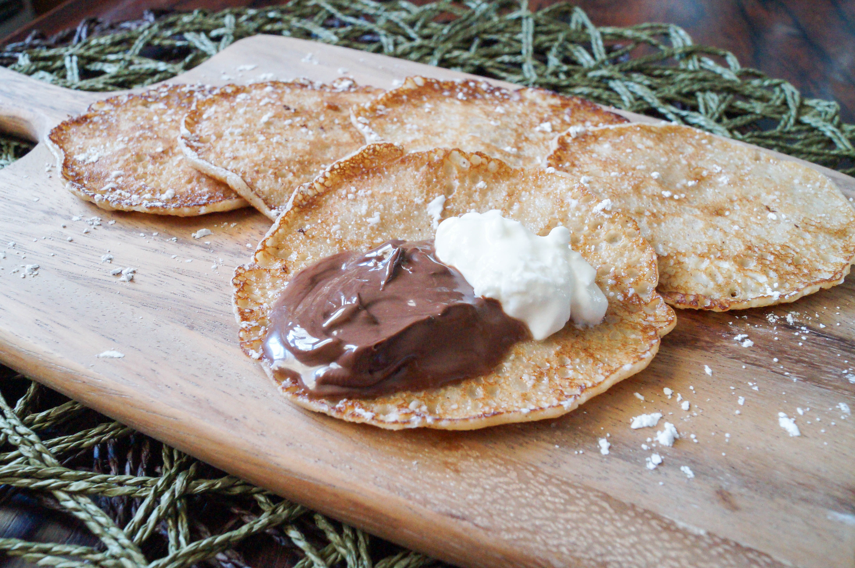 Kanelplättar (Swedish Mini Cinnamon Pancakes)
