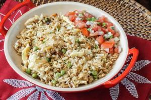 Riz Frit (Mauritian Fried Rice)