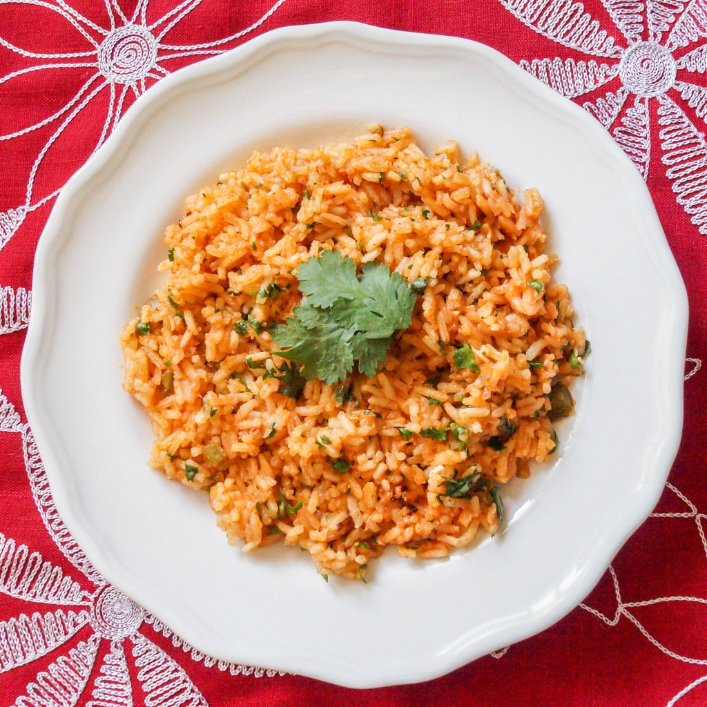 Arroz Rojo (Mexican Red Rice) - Tara's Multicultural Table