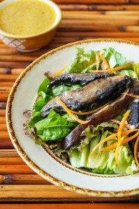 Roasted Portobello Salad with Dijon Vinaigrette