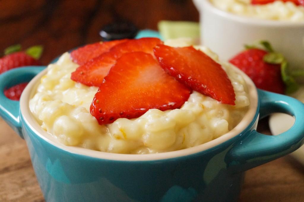 Sweet Rosehip And Orange Risotto Recipe — Dishmaps