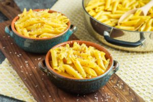 Penne Gialle (Penne with Saffron)