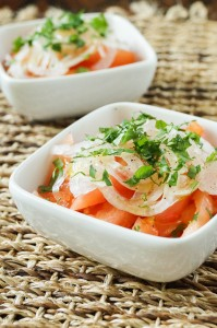 Ensalada Chilena (Chilean Tomato and Onion Salad)