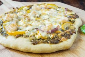POP Century and Shrimp Pesto Pizza