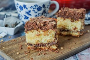 Nutella Coffee Cake