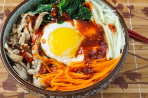 Bibimbap (Korean Mixed Rice Bowl)