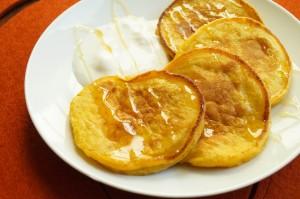 Olad'i iz tykvy (Russian Pumpkin Pancakes)