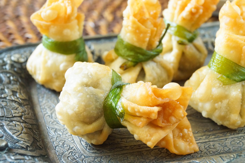 Thai Home Kitchen Thung Thong Thai Crispy Dumplings  Tara's Multicultural Table