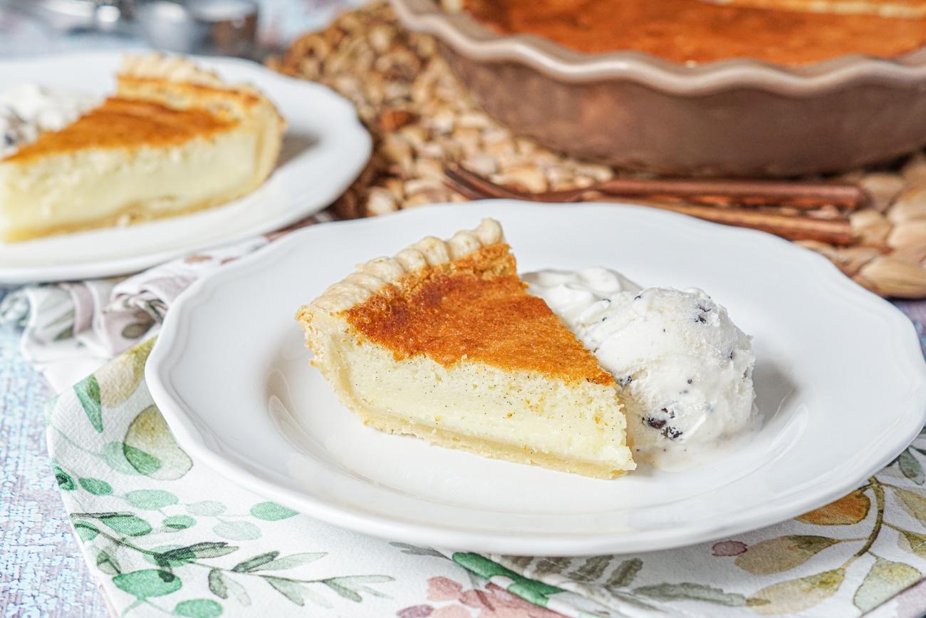 Vanilla Bean Buttermilk Pie Tara S Multicultural Table