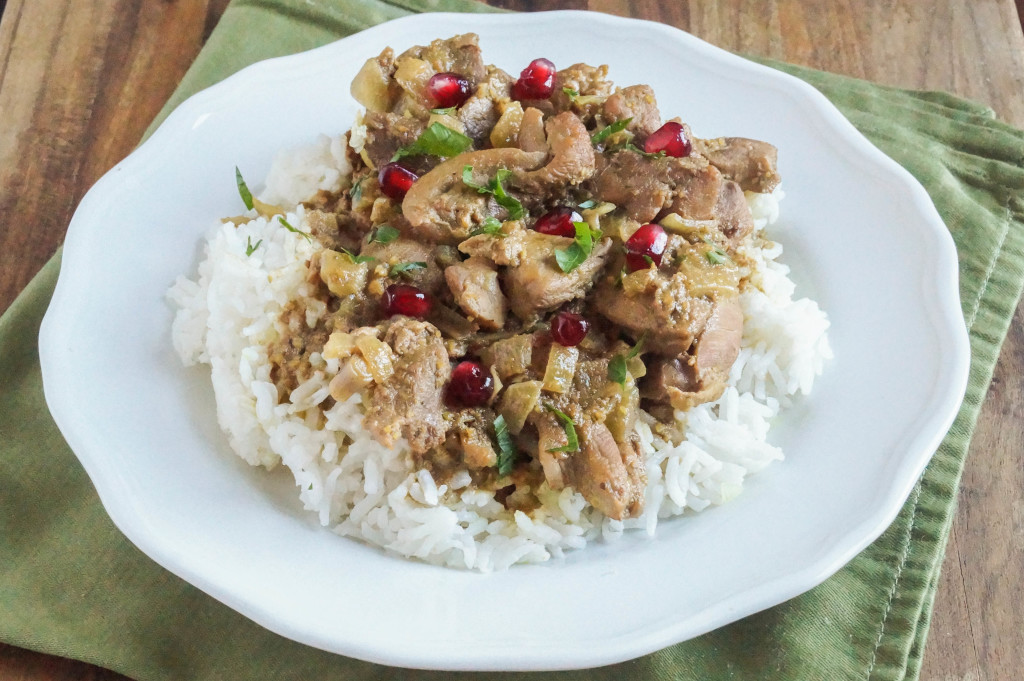 Fesenjan Persian Chicken Stew With Walnut And Pomegranate ...