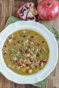 Fesenjan (Persian Pomegranate and Walnut Stew)